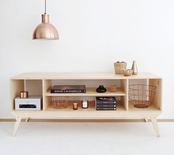 Plywood Tv Stand Designs : Drupal customized handmade plywood tv cabinet console