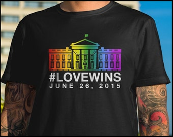 Love Wins Equal Rights Shirt Gay Pride June 25th 2015