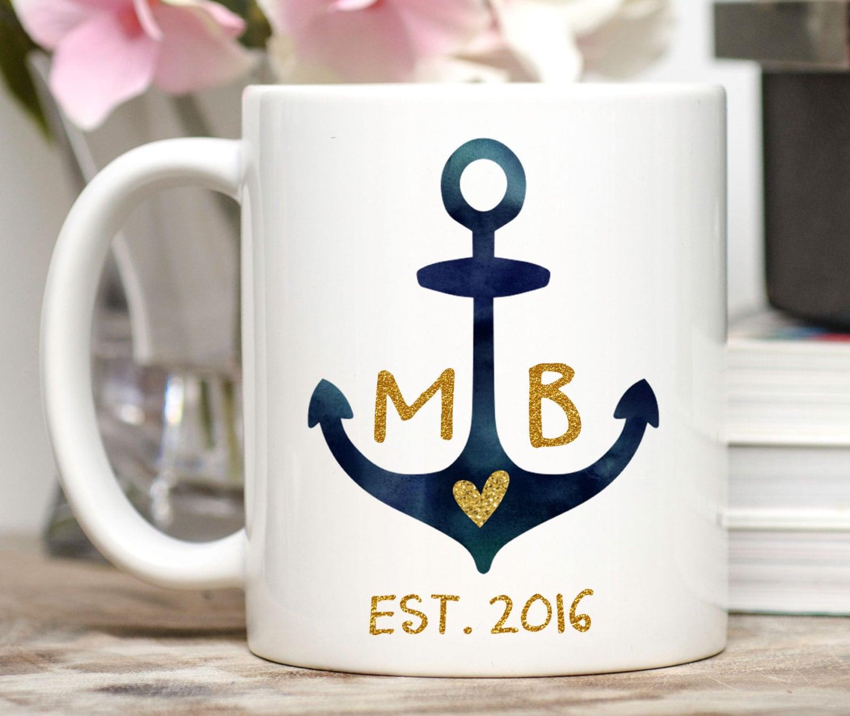 Custom Wedding Mug / Personalized Wedding by MugsbyMadKittyMedia