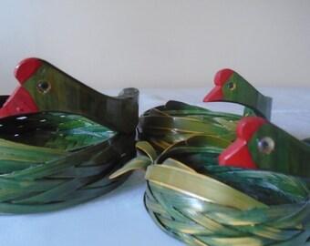 3 x nesting chicken baskets