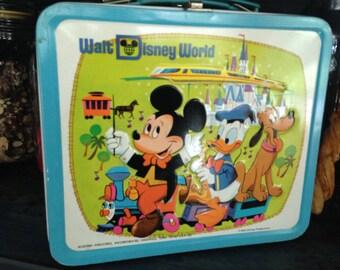 1970's Walt Disney World Lunchbox