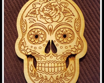 Sugar Skull, Candy Skull Ornament~ Personalized for Free