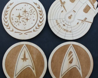Star Trek Inspired Coaster Set