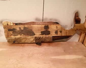 Pallet Whale - Wooden Wall Decor