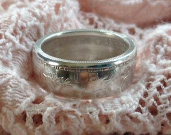 Woman's .999 Silver Liberty Ring