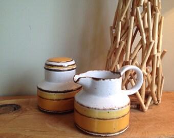 Pot de Crème and sugar Midwinter England