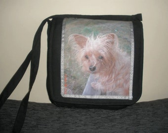 Personalized handbag with photo