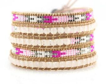 bracelet wrap slake miyuki beads