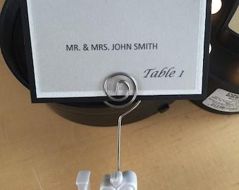 Flat Wedding Place cards