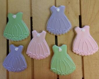 Tutu/dress/ballerina cookies!