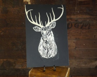 Tribal Tattoo Buck