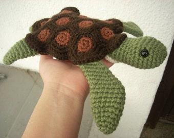 Amigurumi Sea Turtle