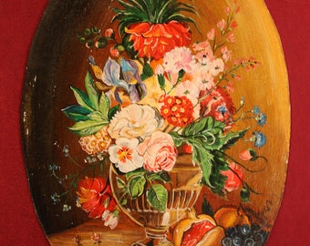 PICTURE vase with flowers