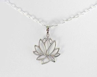 Lotus Pendant (Medium)