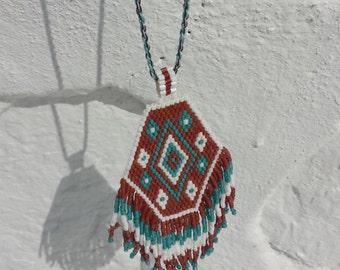 Southwestern style Miyukibead Necklace