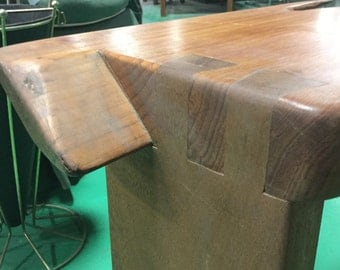 Nakashima Style  Pine, Walnut, Birdseye Maple Table