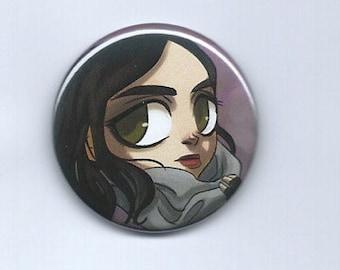 "Jessica Jones 1.5"" pinback button"