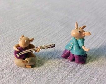 Shanti couple - polymer clay toys