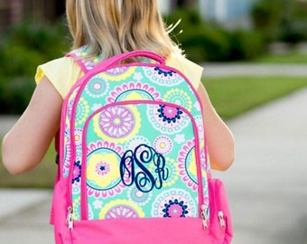 Personalized Backpack/ Monogrammed Backpack/ Girl's Backpack/ FREE MONOGRAM