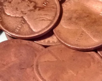Wheat pennies Early dates pre 1920  (25) coins