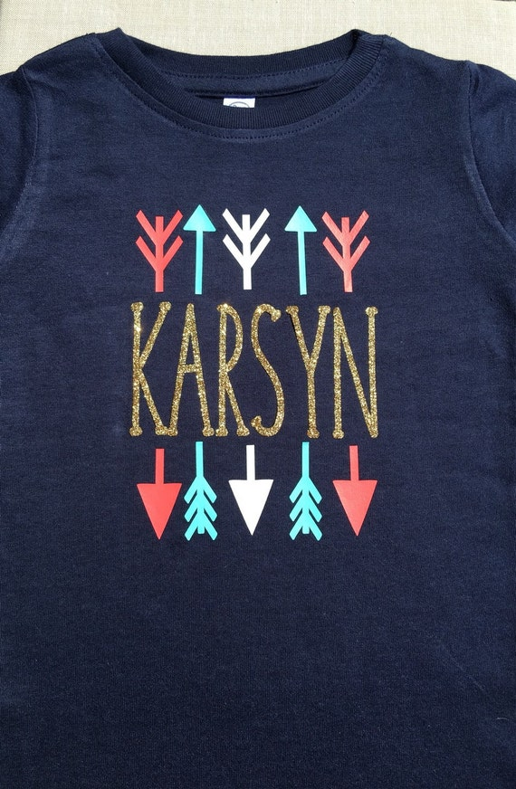 little girls custom shirt personalized girls by sassygirlsdesign