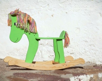 Wooden horse - gift Christmas