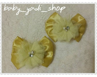 Yellow pair clips