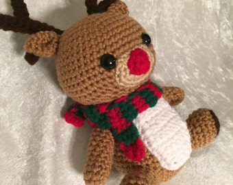 Amigurumi Reindeer Cuddly