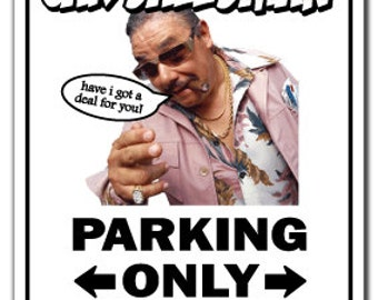 Car Salesman ~Sign~ Parking Used Cars Sales Funny Gift