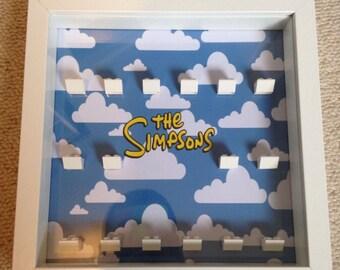 The Simpsons Minifigure Display Frame