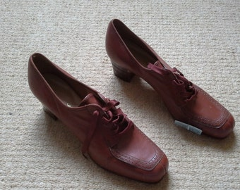 Original 1940s/1950s Oxford Brogues