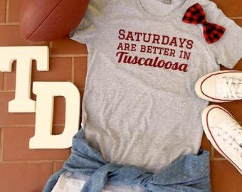 Women's Football Shirt - Tuscaloosa