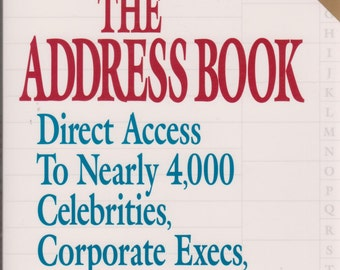 The Address Book - How To Reach Anyone who is Anyone