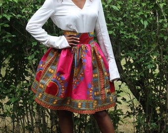 Middle Skirt pink