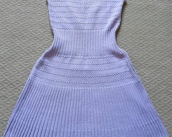 Summer knitted dress, ctton dress,  knit dress, knitted dress, cotton dress