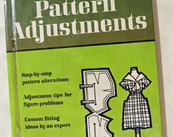 Pattern Adjustments Hardback Book by Better Homes n Gardens 60's Classic  .