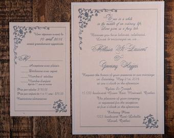 Fairytale Wedding Invitation, Fairytale Invitation, Fairytale Wedding Invitations, Storybook Wedding Invitation Enchanted Wedding Invitation