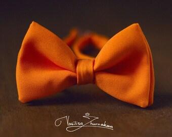 Orange Bow tie - Bowtie