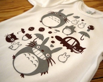 "Longsleeve Shirt ""TOTORO & FRIENDS"" Baby"