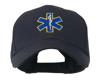 Star of Life Embroidery Cap