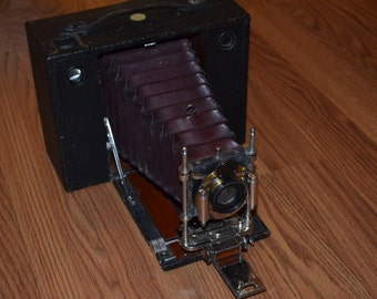 Rare Eastman Kodak No 4 Type E Cartridge Camera