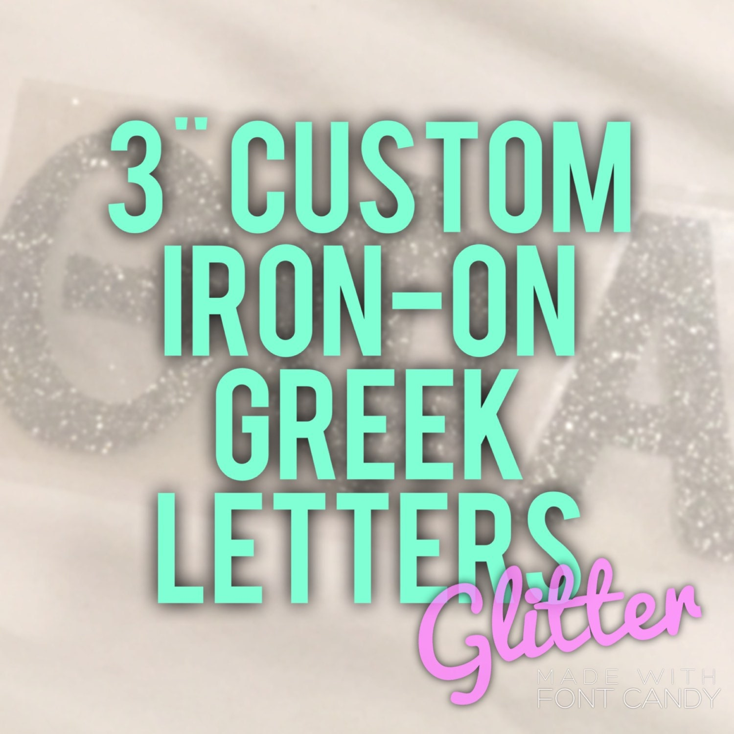 iron on greek letters custom 3 inch letter iron on decal in by alouettedsigns 14070 | il fullxfull.863221655 lfud