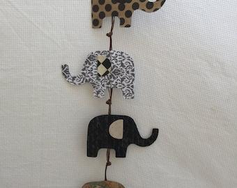 Wanderlust Elephant Mobile