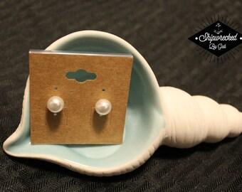 Faux Pearl Earrings- Only pair!