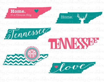 Tennessee Life SVG Design for Silhouette and other craft cutters (.svg/.dxf/.eps/.pdf)