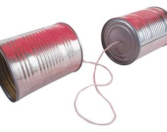 Tin Can Phone ;