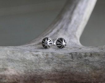 Silver Star Stud Earrings - Dainty Earrings - Everyday Earrings - Micro Stud Earrings - Sterling Silver Earrings