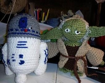 Crocheted Yoda!