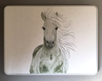 Gorgeous GREY HORSE PLACEMAT - PM4