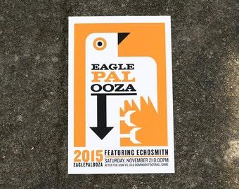 Eaglepalooza 2015 Gig Poster